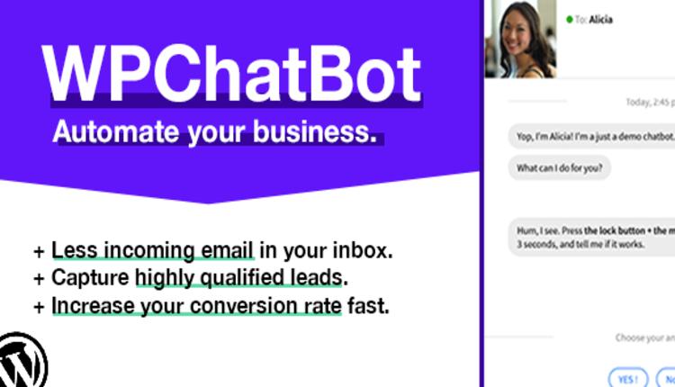 WP Chatbot - Wordpress Chatbot Builder