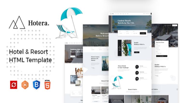 Hotera - Hotel & Resort HTML Template