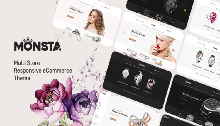 Monsta - Jewelry Theme for WooCommerce WordPress