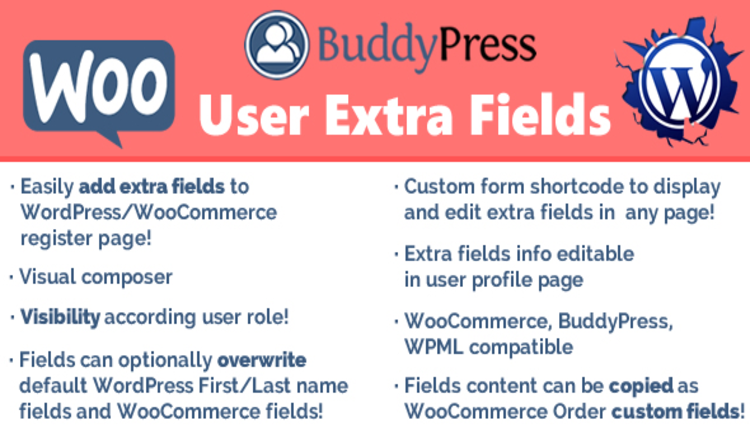 User Extra Fields