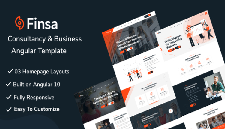 Finsa -  Consultancy & Business Angular Template