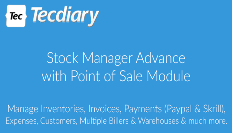 Stock Manager Advance with Point of Sale Module