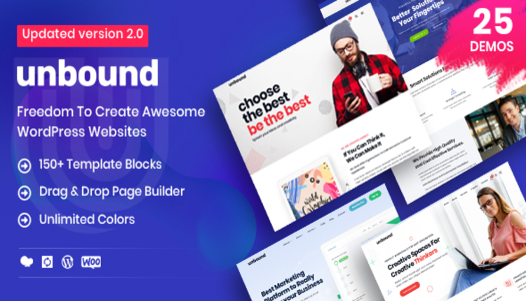 Unbound - Business Agency Multipurpose Theme