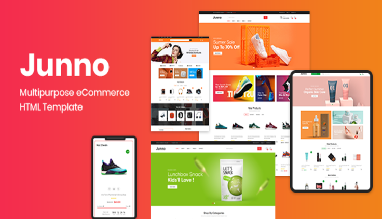 Junno – Multipurpose eCommerce HTML Template