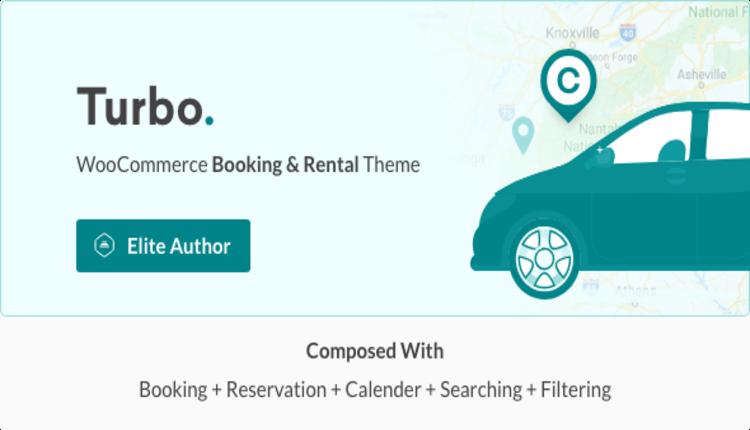 Turbo - WooCommerce Rental & Booking Theme