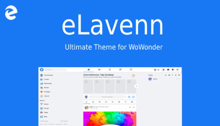 eLavenn - The Ultimate WoWonder Theme