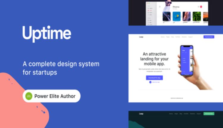 Uptime - Responsive Elementor WordPress Theme for Business