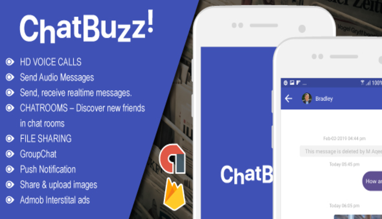 Chatbuzz - Nimbuzz Clone Social Messenger app v1.8