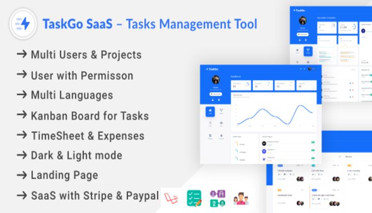 TaskGo SaaS – Tasks Management Tool