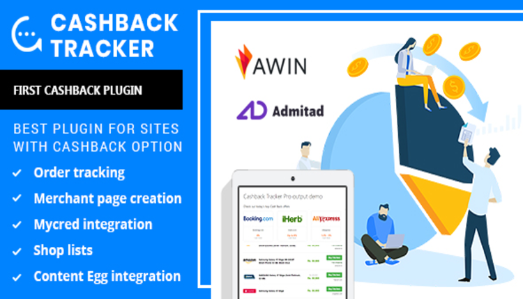 Cashback Tracker Wordpress Plugin