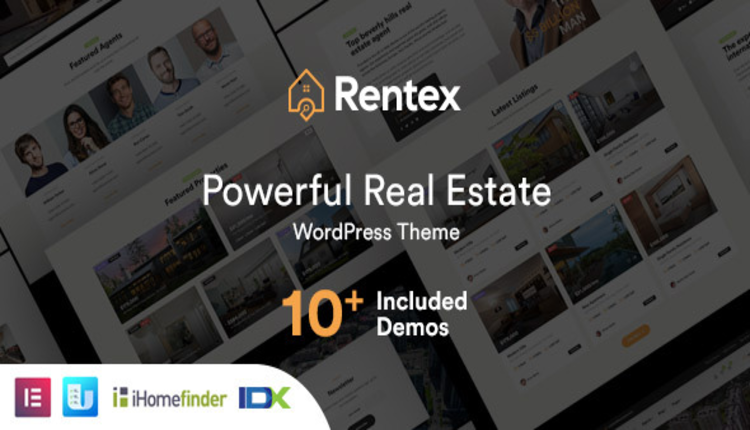Rentex - Real Estate WordPress Theme