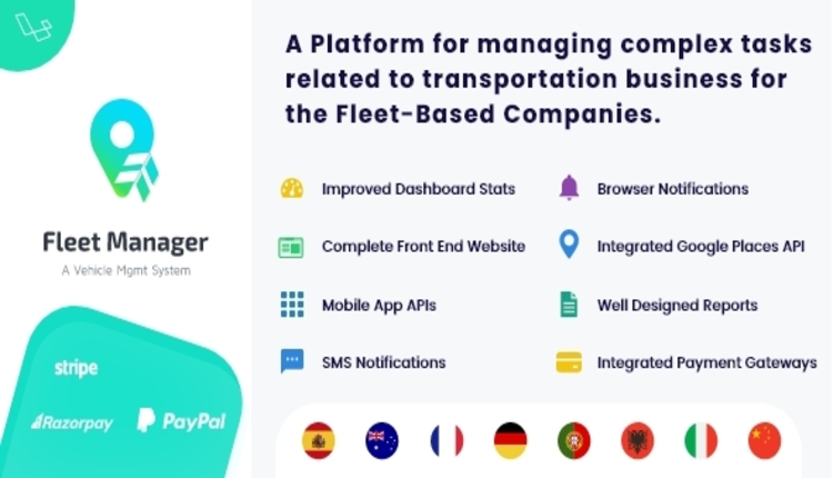 Fleet Manager - Vehicle Management & Booking System