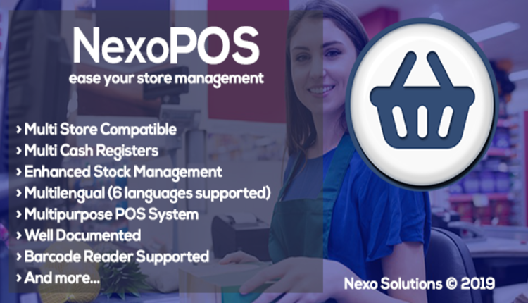 NexoPOS 3.x - Extendable PHP Point of Sale