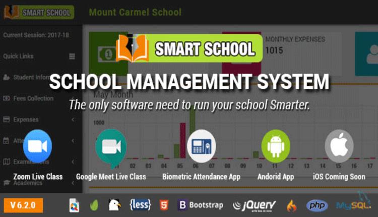 Smart School : School Management System