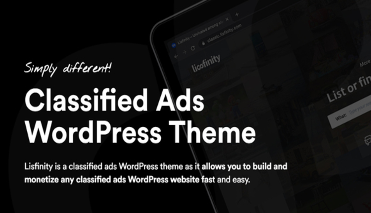 Lisfinity - Classified Ads WordPress Theme