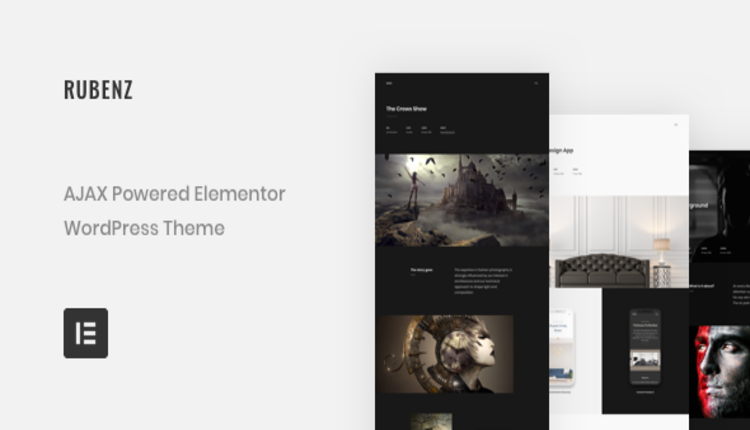 Rubenz – Creative Portfolio AJAX WordPress Theme