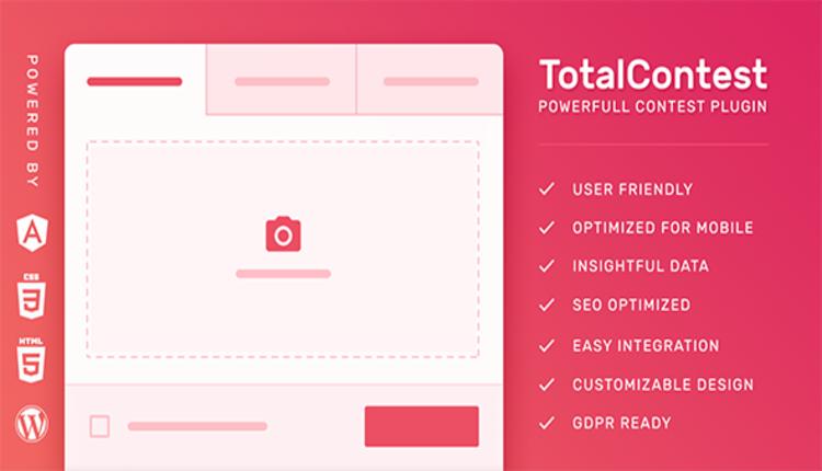 TotalContest Pro - Photo, Audio and Video Contest WordPress Plugin