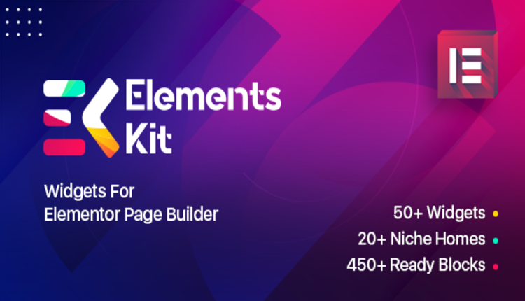 Elements Kit Widgets - Addon for elementor page builder