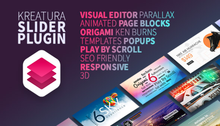Kreatura Slider Plugin for WordPress