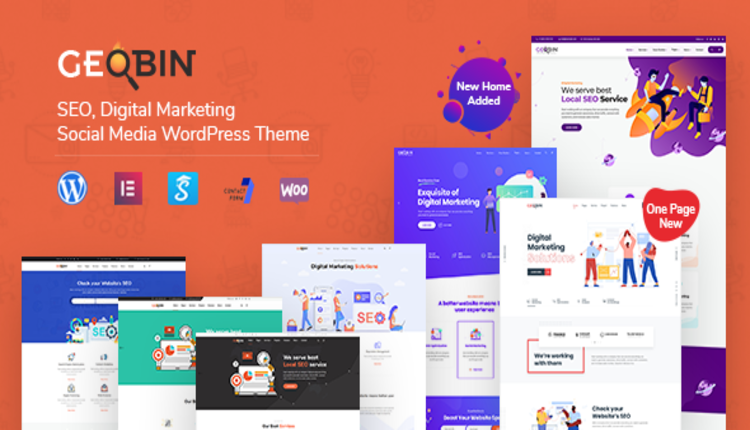 GeoBin | Digital Marketing Agency, SEO WordPress Theme