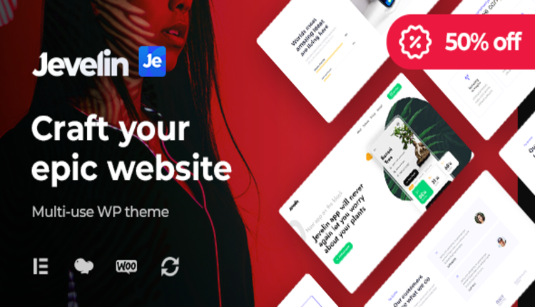 Jevelin | Multi-Purpose Responsive WordPress AMP Theme
