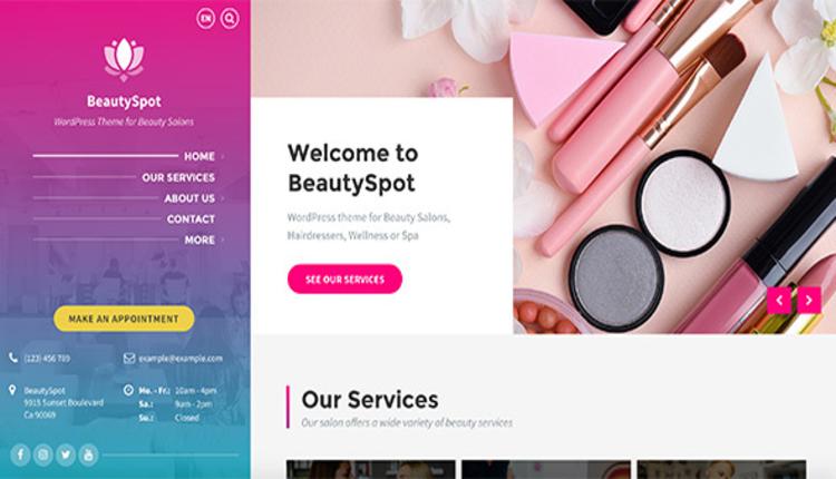 BeautySpot - WordPress Theme for Beauty Salons