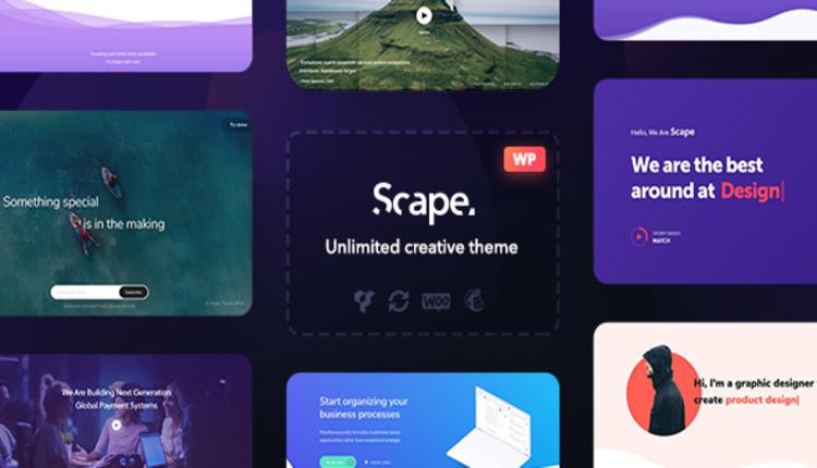 Scape - Multipurpose WordPress theme