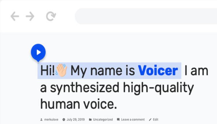 Voicer – Text to Speech Plugin for WordPress
