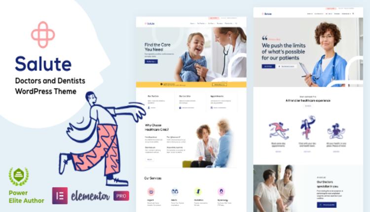Salute - Medical - WordPress