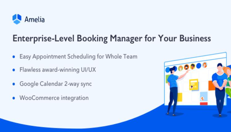 Amelia - Enterprise-Level Appointment Booking WordPress Plugin