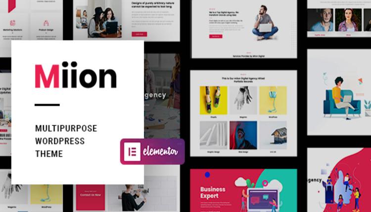 Miion | Multi-Purpose WordPress Theme