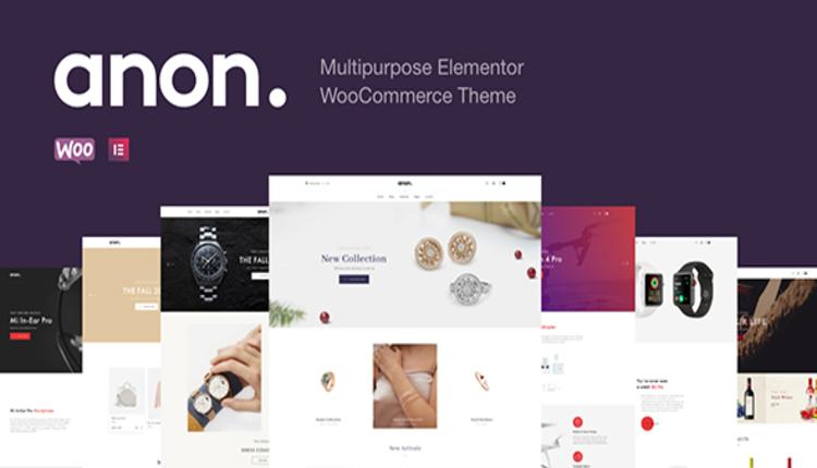 Anon - Multipurpose Elementor WooCommerce Themes