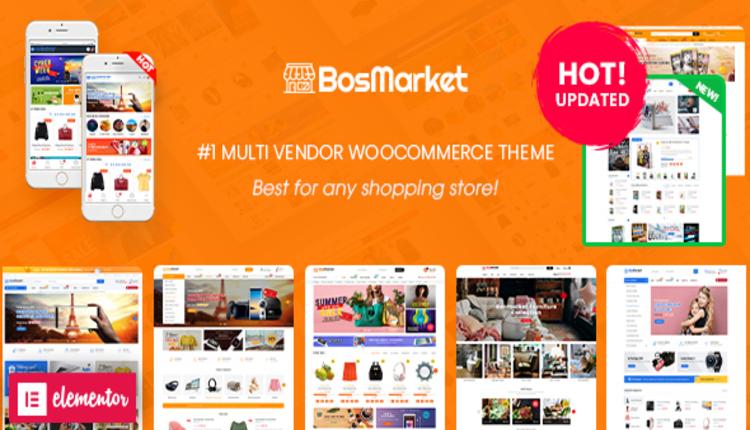 BosMarket - Flexible Multivendor WooCommerce WordPress Theme (12 Indexes + 2 Mobile Layouts)