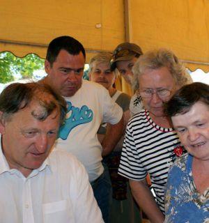Leos helfen beim Sommerfest des Markus-Pflüger-Heims