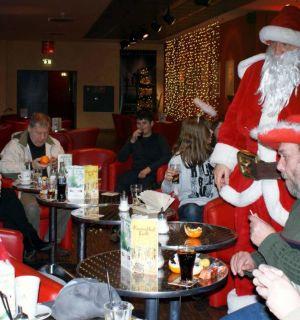 Eine Begegnung mit dem Weihnachtsmann