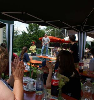 Leo-Sommerfest für Heimbewohner