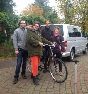 Ein Fahrrad für Annette