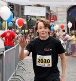 Leos helfen beim Dreiländerlauf