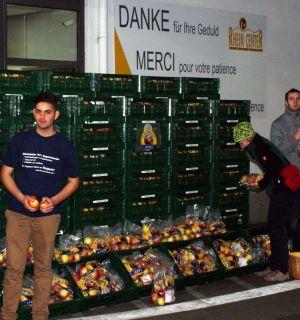 AWO-Sammlung – Eierverkauf – Apfelaktion: Weiler Leos im Dauereinsatz