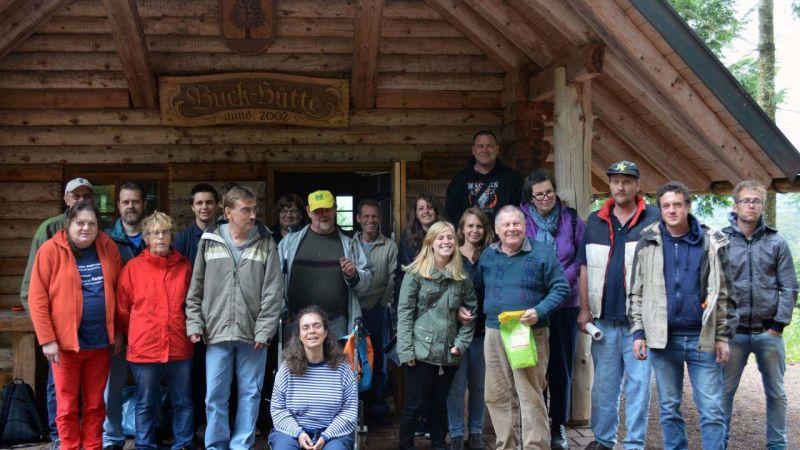 Besuch der Buckhütte im Elbenschwand