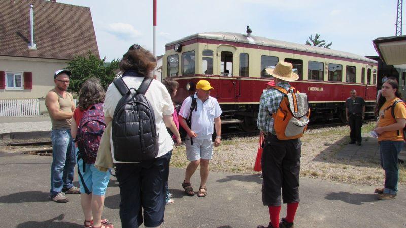 Fahrt mit der Kandertalbahn