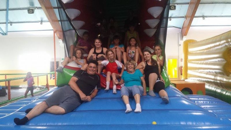 Besuch im Kinderland mit Kindern aus Weissrussland