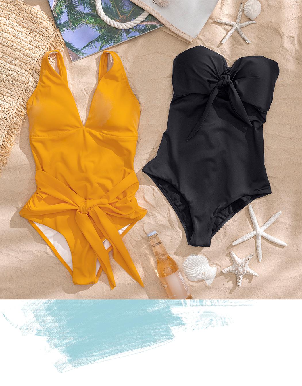 Vestidos de baño hechos con redes recicladas del fondo del mar - Amor por el mar