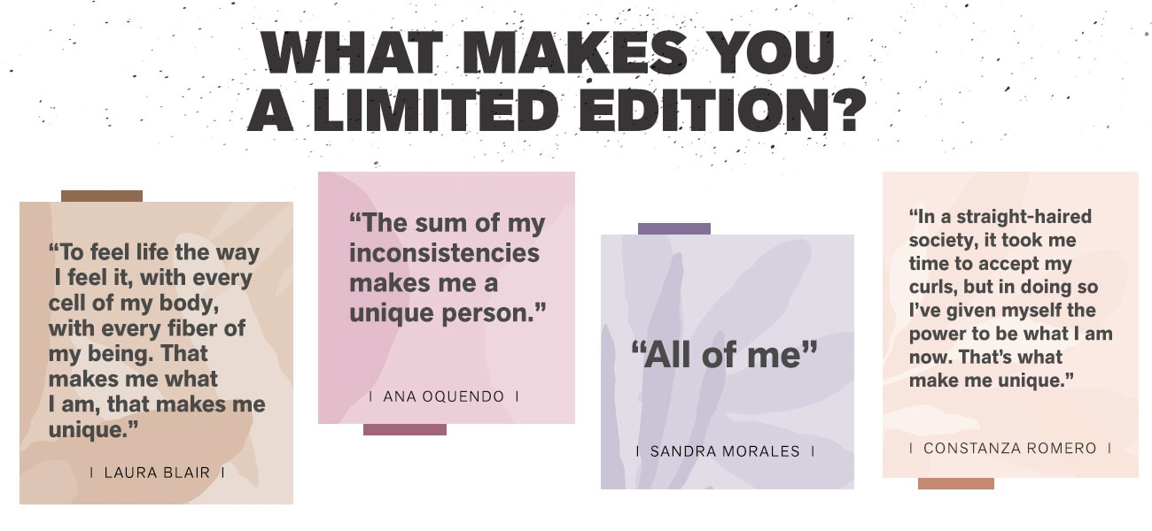 You are a Limited Edition