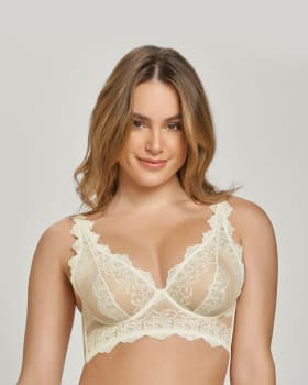 sheer lace underwire bustier bra-898- Ivory-MainImage