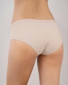 semi low-rise smooth hiphugger panty-489- Rosa Claro-MainImage