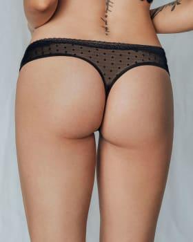 sensual lace thong knicker--MainImage