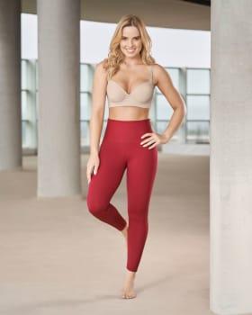 activelife schlankmachende leggings mit po push-up-391- Rojo Coral-MainImage