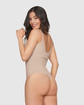 strapless sculpting string bottom body shaper-802- Nude-MainImage