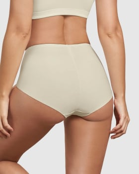 eco-friendly classic high-waisted shaper panty--MainImage